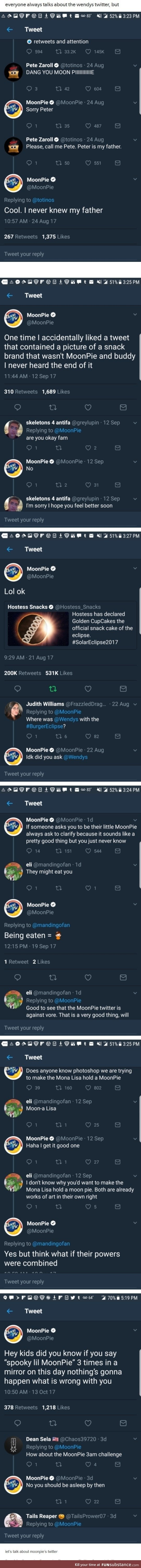 Wendy's aren't the only ones with a twitter