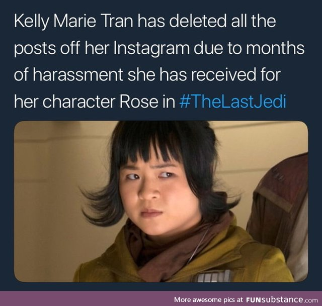 Star Wars Fandom is toxic