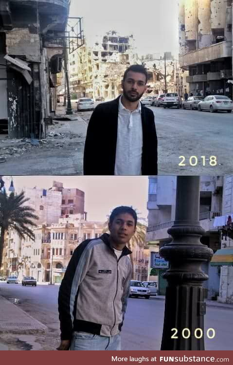 Benghazi then and now