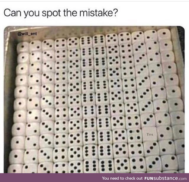 Can't find it