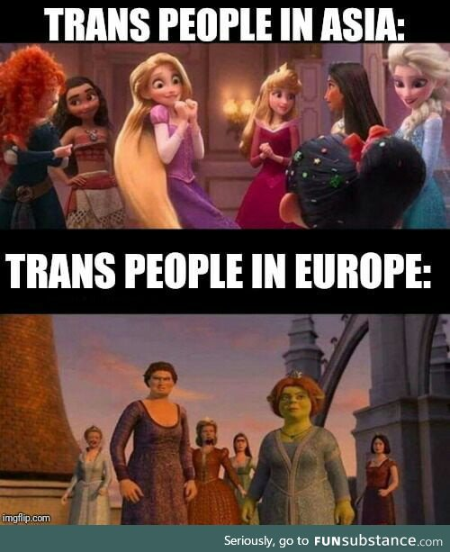 Its much easier to avoid a trap in Europe