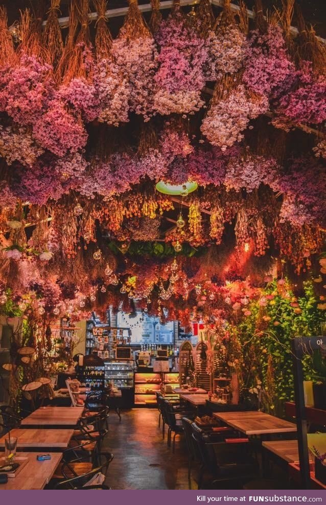 This Cafe in Seoul South Korea smells even better than it looks