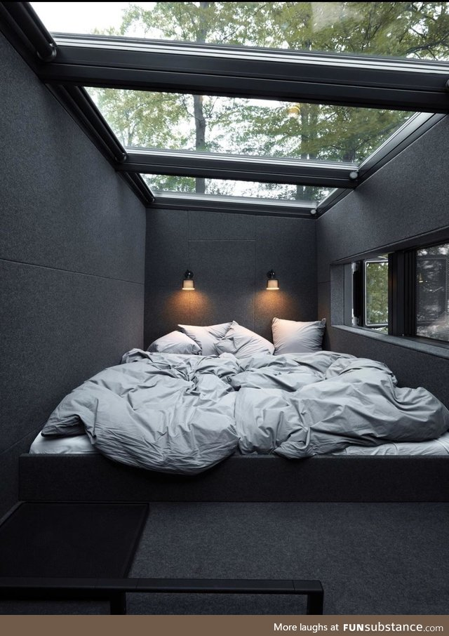 Beautiful room for star gazing