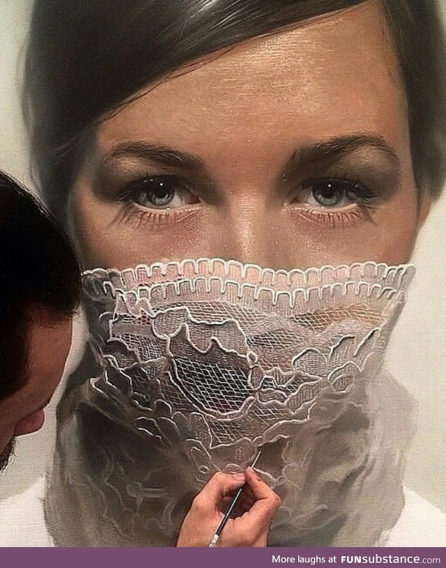 Astounding painting by Mike Dargas