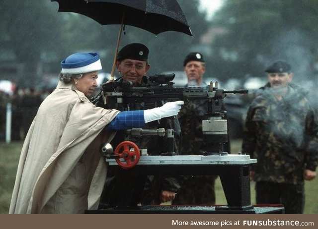Elizabeth II, Protector of britain