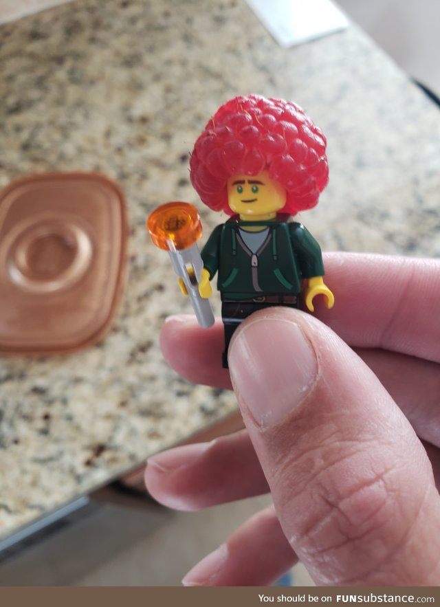 Best Lego hair, ever!