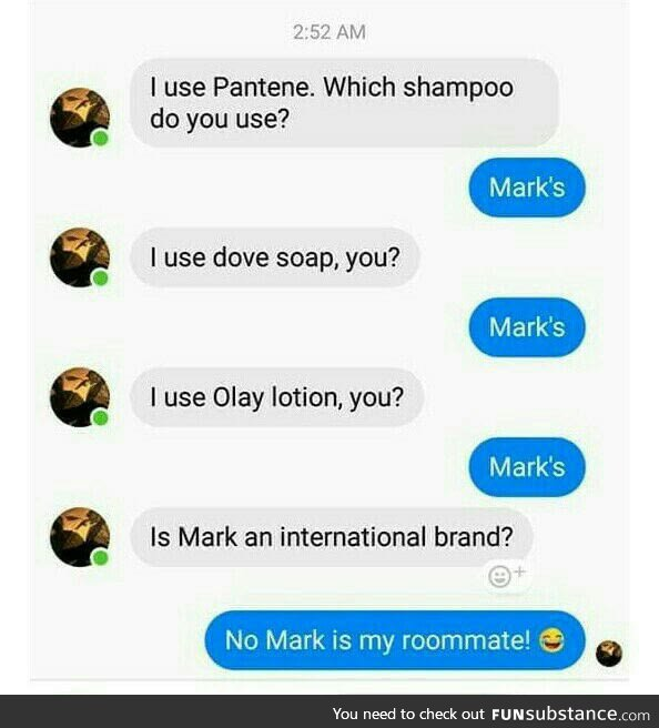 And he has some international brands