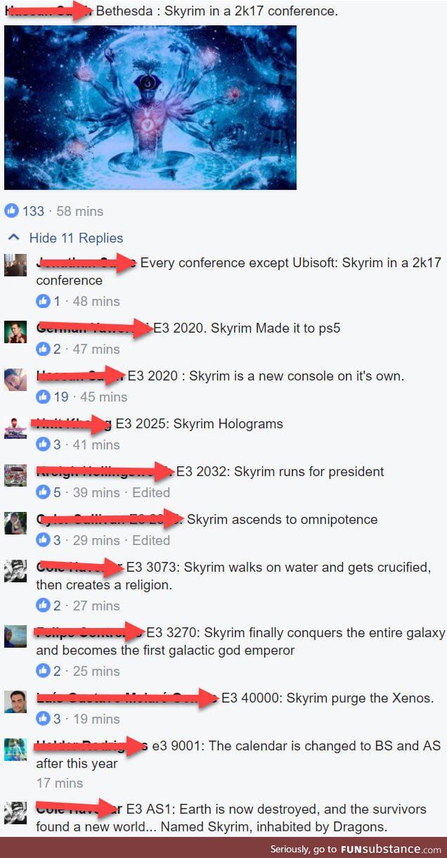 Skyrim plans... Its time to stop