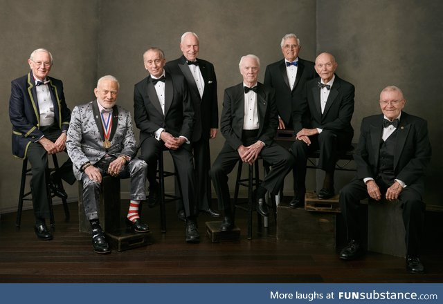Just some dudes who went to the Moon