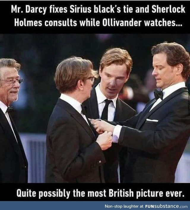Quite possible the most British picture ever