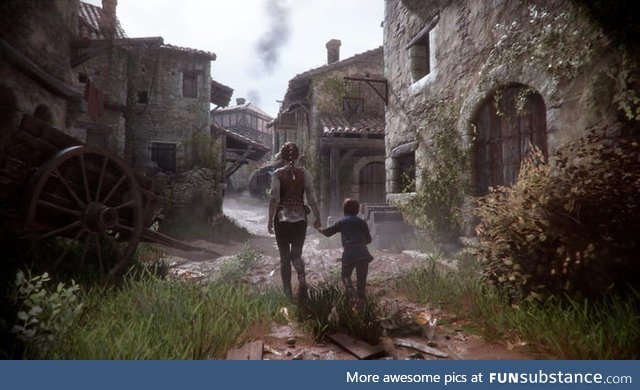 I would advise everyone to play 'A Plague Tale' game, the game has a