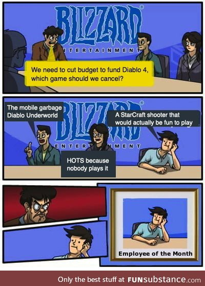 Meanwhile at Blizzard