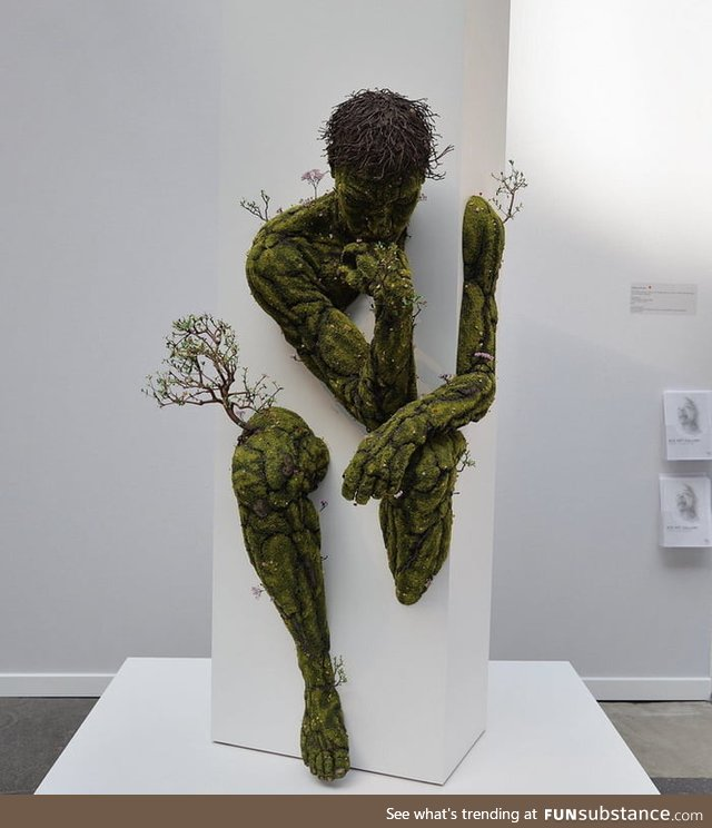 Plant Sculptures by French artist ÉMeric Chantier