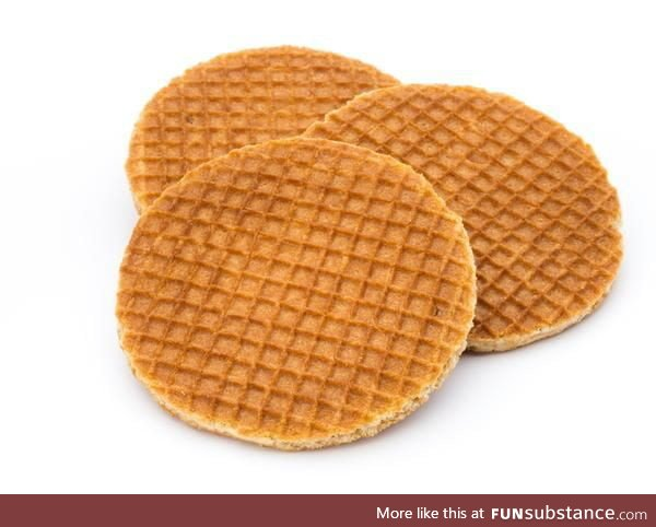 Who would like a stroopwafel?