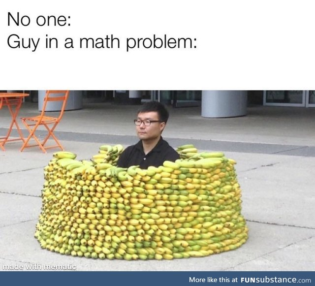 Guys in Math Problems