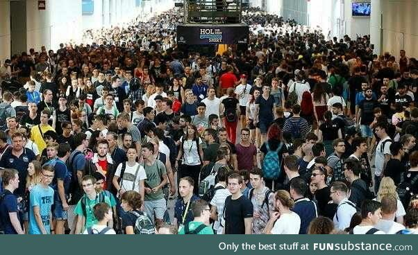 One of the biggest gaming events and not a single case of violence