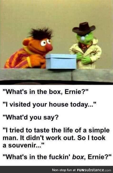 Sesame Street is darker than I remembered