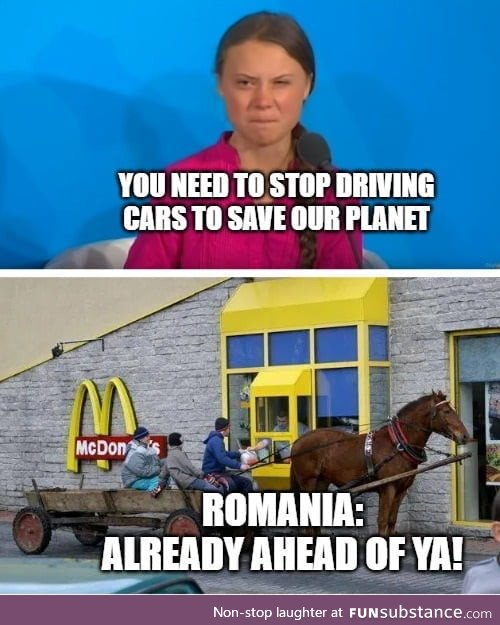 Make Romania great again! Oh, wait