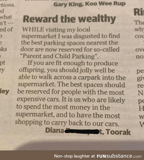 Reward the Wealthy