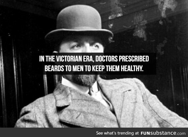 Beard is health