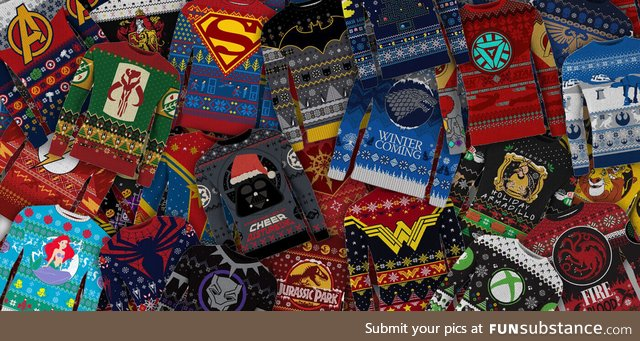 GEEK'S GUIDE TO CHRISTMAS SWEATERS