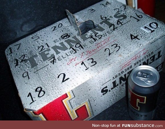 Just started my advent calendar!