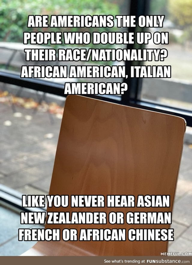 Does it point to an unhealthy obsession with race and nationality?