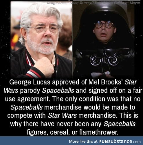 Lucas made more money from Star Wars merchandise then the movies themselves