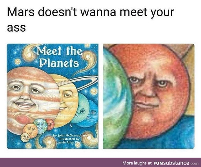 Never go to Mars, actually