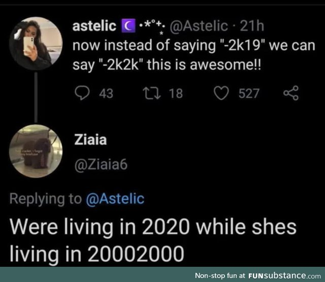 We're gonna have flying cars in 20002000