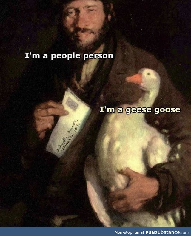 The geese are not free this year