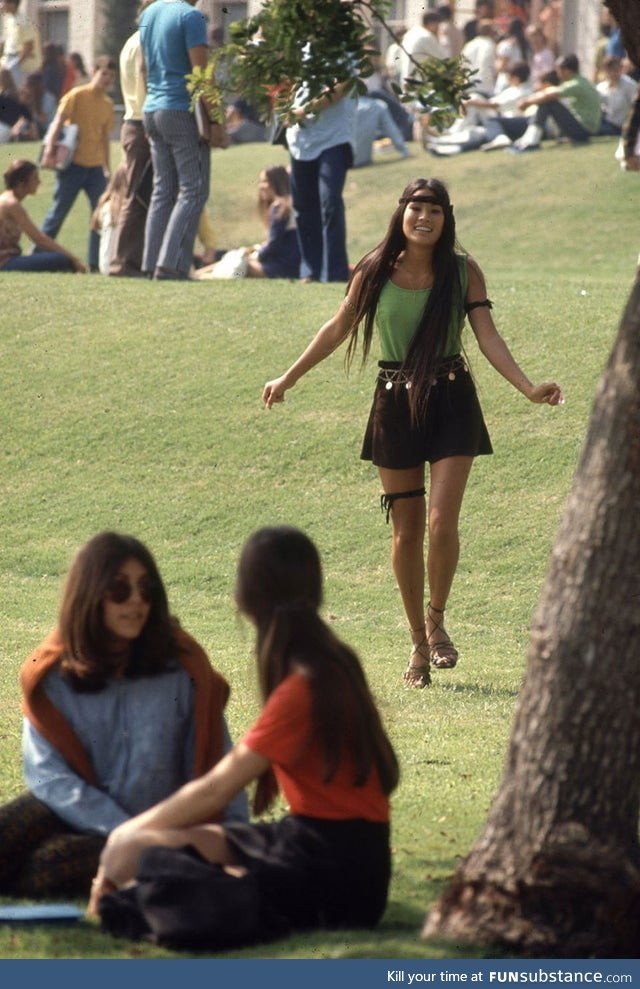 High school fashion from 1969