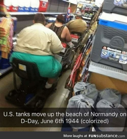 US forces land on Normandy