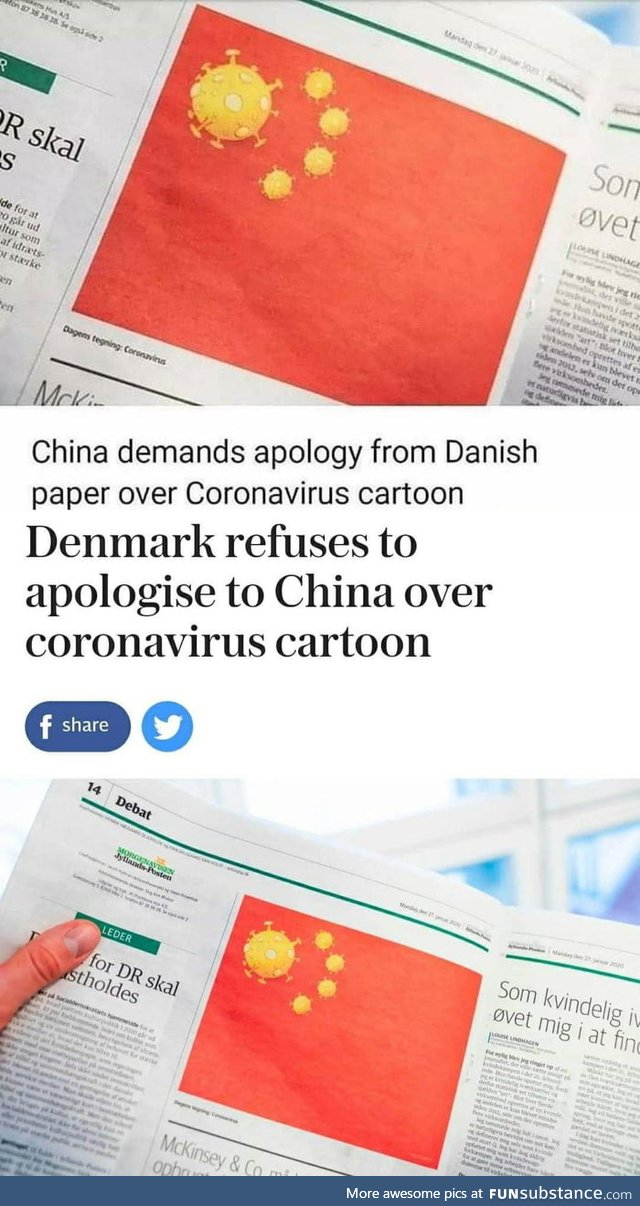 Denmark doesn't give a f**k