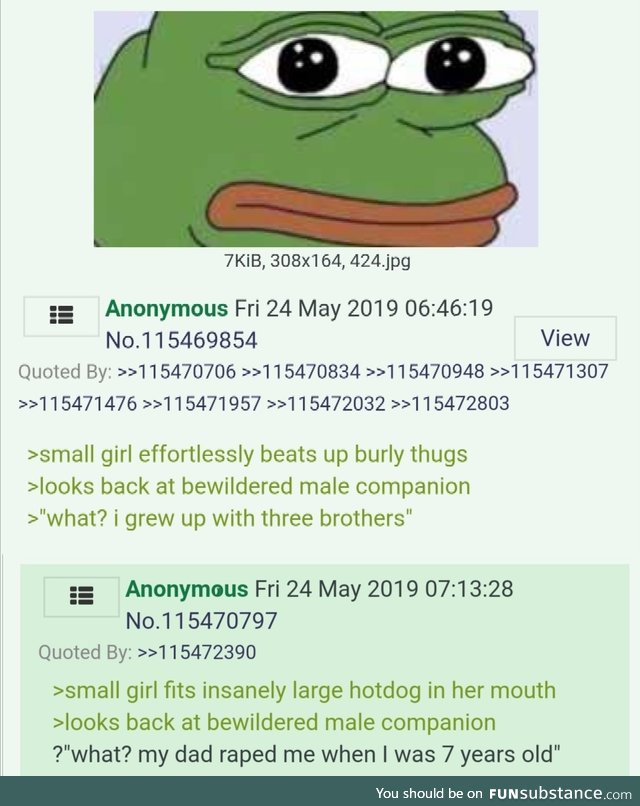 Anons discuss female characters