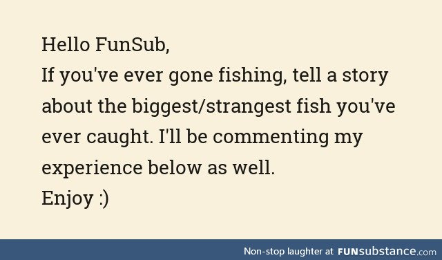 Fishy Fun Day #46: Storytime Edition