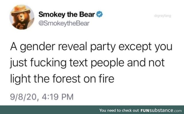 You don't want smoke with Smokey