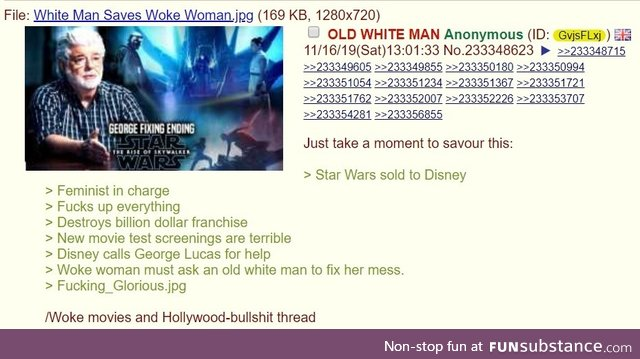 Anon watches The Mandalorian