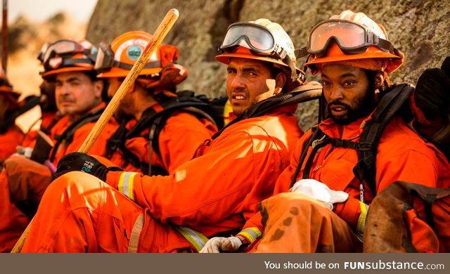 California's Inmate Fire Fighters Saving Homes And Lives While Risking Theirs For Almost