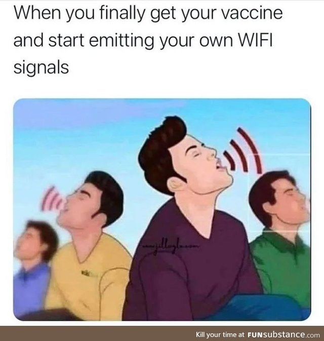 Sing me the credentials of your WiFi