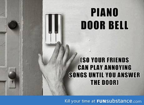 Awesome Piano Doorbell