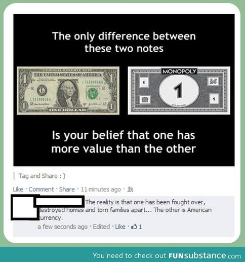 Real money vs  Monopoly money - FunSubstance