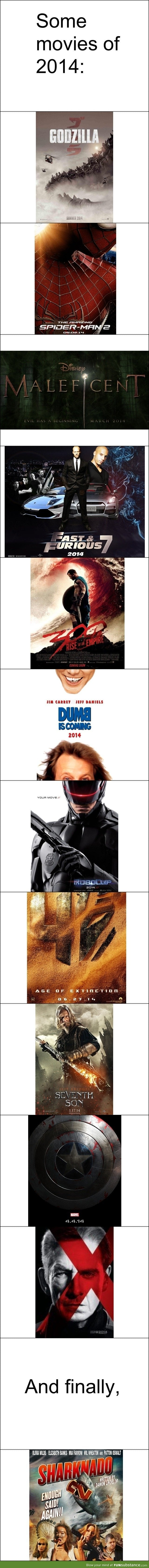 Movies to watch out for in 2014