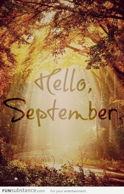 First Time Driver >> Goodbye August, Hello September! - FunSubstance