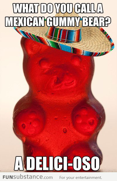 Mexican gummy bear