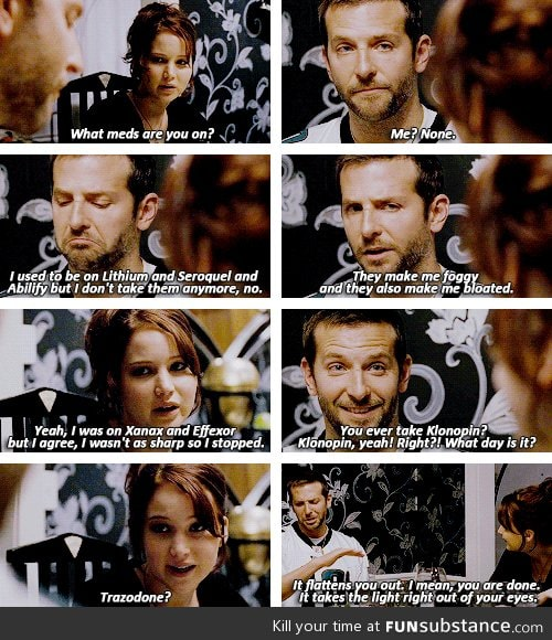 One of my favorite scenes from Silver Linings Playbook