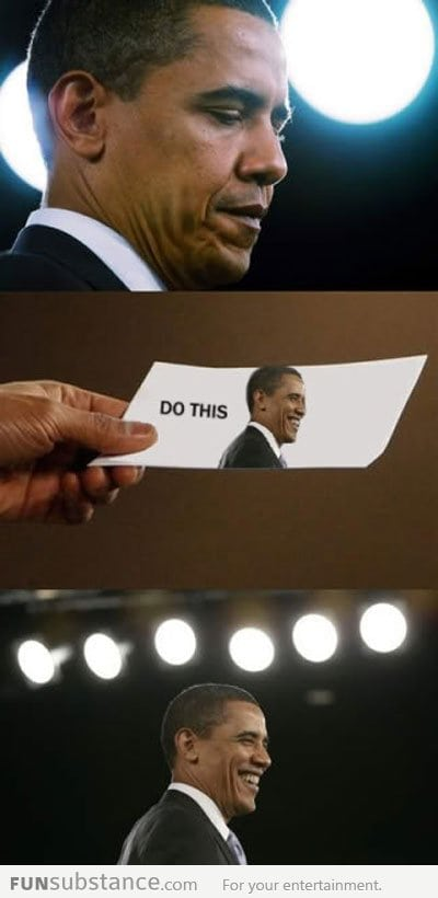 Obama's note to self