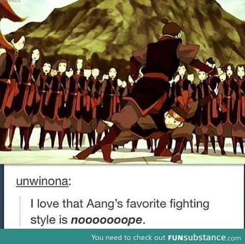 The art of noooooope.