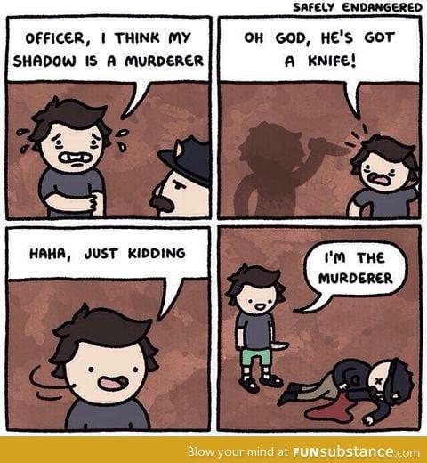 hahahahaha jokes