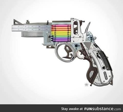 Kill them with creativity